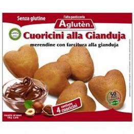 Agluten Cuoricini Gianduja150g
