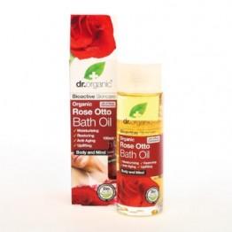 Dr Organic Rose Bath Oil 100ml