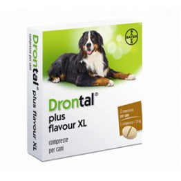 Drontal Plus Flavour Xl*2cpr